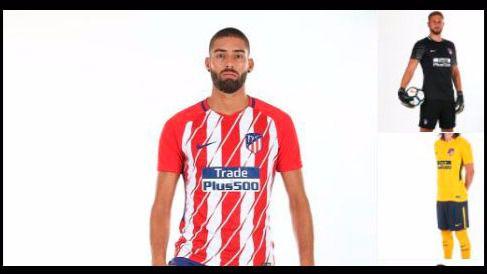 El escudo no será la única sonada novedad en la camiseta del Atleti