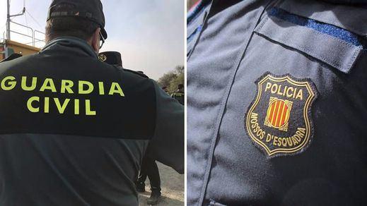 Choque de cuerpos policiales: el Gobierno cubre todas las plazas de Guardia Civil en Cataluña y la Generalitat confía su futuro en los Mossos