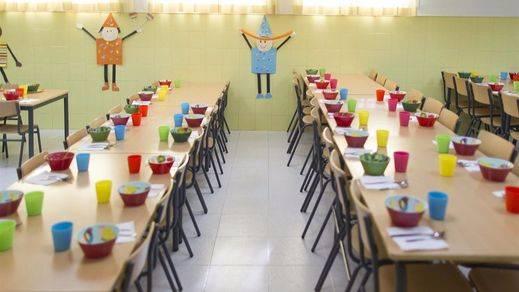 El próximo curso escolar tendrá 13.000 ayudas de comedor, 1.012 más que el pasado