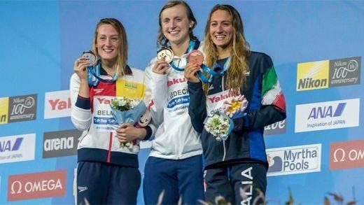 Mireia Belmonte suma más triunfos: medalla de plata en los 1.500 libres en los Mundiales