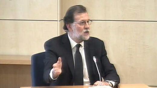 Rajoy sale airoso del tenso interrogatorio tras desmentir todas las acusaciones de corrupción