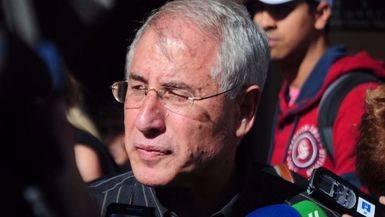 Enrique del Olmo, en la presentación de su precandidatura a la Alcaldía de Madrid para las últimas elecciones