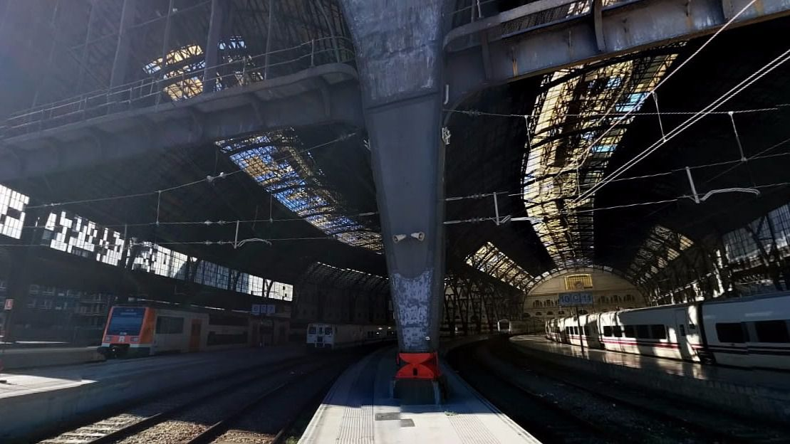 20 heridos graves en el accidente de Cercanías en la estación de Francia de Barcelona