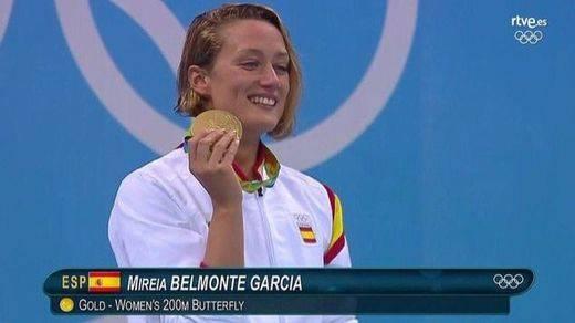 Mireia Belmonte, la mujer de oro del deporte español
