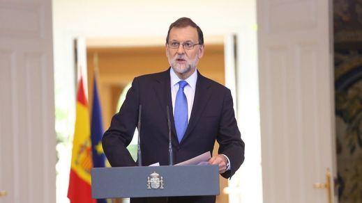 Rajoy cierra el curso político con su más serio aviso a Cataluña: