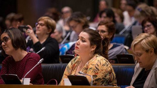 La abstención de Unidos Podemos rompe el consenso sobre el pacto de Estado contra la violencia de género