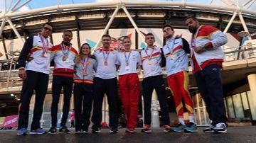 Nuestros ejemplares paralímpicos: once medallas en los Mundiales 2017 de Londres (vídeo)
