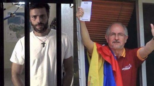 Leopoldo López y Antonio Ledezma, extraídos de su casa donde cumplían prisión domiciliaria
