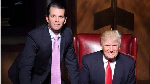 Escándalo permanente en la Casa Blanca: Trump dictó a su hijo el falso comunicado sobre el 'Rusiagate'