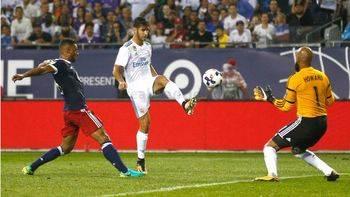 Otro tropiezo del Madrid sin Ronaldo: sólo empata con viejas glorias de la Liga de EEUU (1-1)