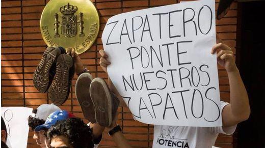 Efectos colaterales de la situación en Venezuela: atacada con tres cócteles molotov la embajada española en Caracas