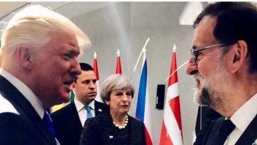 España tiene cerrada con EEUU una visita oficial de Rajoy a Trump en vísperas de la consulta del 1-O