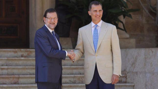 Un ataque de lumbago de Rajoy retrasa a primeras horas de esta tarde su cita con Felipe VI