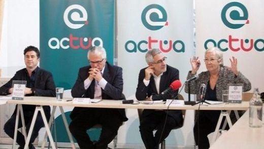 La izquierda se divide más: Llamazares y Baltasar Garzón convierten 'Actúa' en partido político