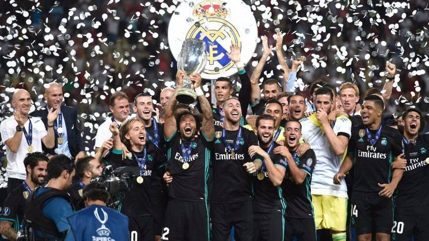 El Madrid empieza la temporada como acabó la anterior: con un título, la Supercopa ante el United (2-1)
