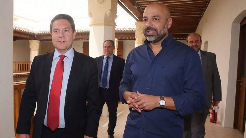 Nombramiento oficial de García-Page: el 'podemita' García Molina ya es vicepresidente segundo de la Junta