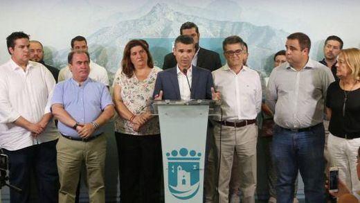 Primer ejemplo anti-izquierdas: PP y un partido local de Marbella arrebatarán la Alcaldía a la coalición PSOE-IU-Podemos