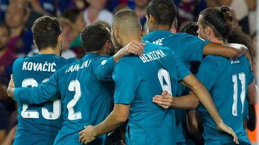Supercopa de España: el Madrid acaba con diez, pero humilla al Barça en el Camp Nou (1-3)