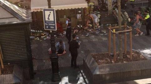Las imágenes del horror: vídeo del atropellamiento masivo