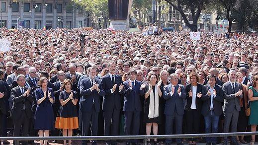 Política nacionalista con el atentado: la Generalitat diferencia a víctimas