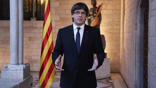 Puigdemont critica a sus aliados de la CUP que no irán a la marcha antiterrorista del sábado