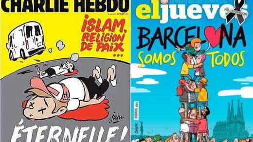 'Charlie Hebdo' y 'El Jueves': la polémica del humor con el terrorismo yihadista y la islamofobia