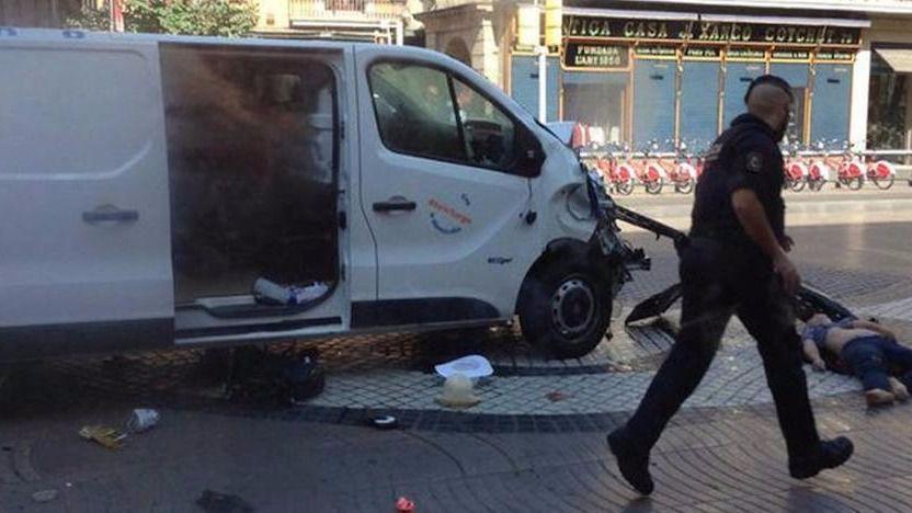 Barcelona no descarta ahora instalar los bolardos que muchos críticos echaron en falta en las Ramblas