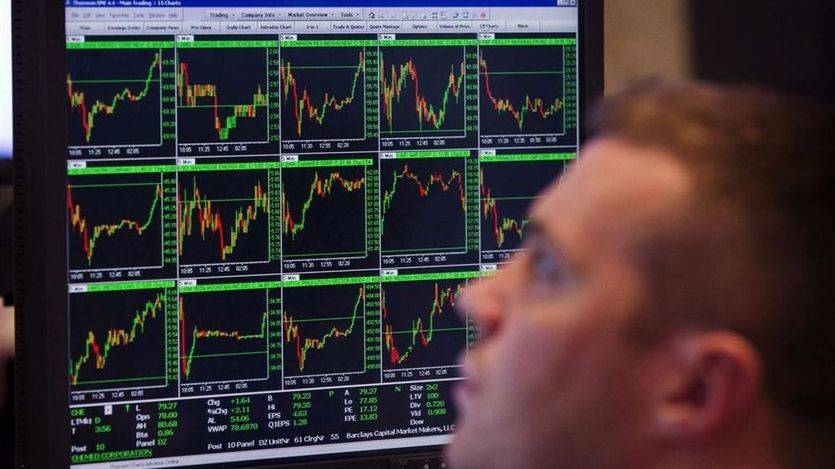El Ibex rebota un 0,19% a la espera de los discursos de Draghi y Yellen