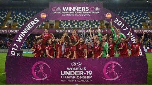 El fútbol femenino se consolida y mejora un 43% su audiencia tras el Europeo conquistado por la Roja sub'19