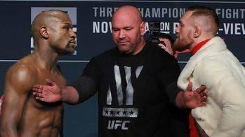 Las Vegas está lista para la pelea del dinero: Mayweather vs McGregor