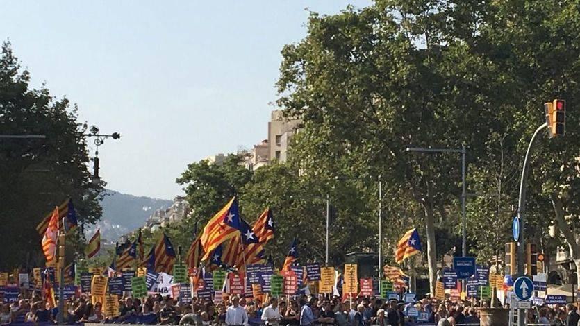 'Boicot' independentista y 'tensión' política: las claves de una manifestación antiterrorista muy manchada en Barcelona
