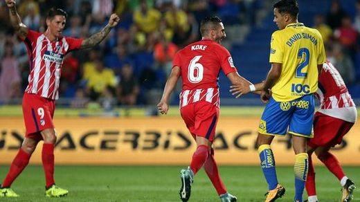 El Atleti demuestra que sin fichajes, y sin Griezmann, sigue siendo un titán: 1-5 al Las Palmas