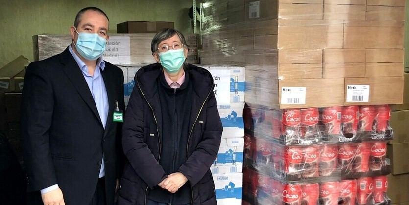 Mercadona dona 3 toneladas de productos infantiles de primera necesidad a la Fundación PRODEIN