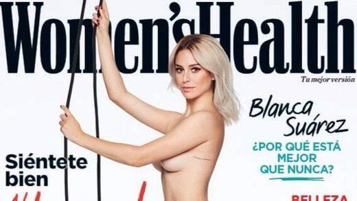 Blanca Suárez posa desnuda para la revista 'Women's Health'