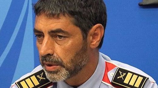 Trapero, jefe de los Mossos, vuelve a encender la llama al acusar a la Policía Nacional de no ofrecer información
