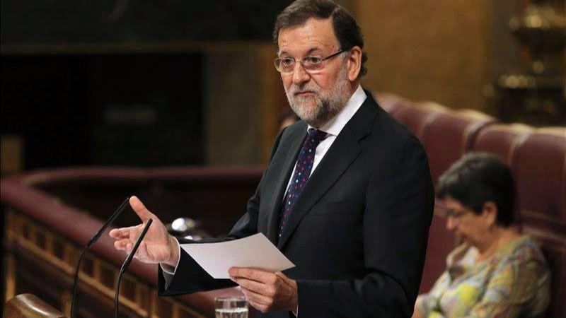 Rajoy, en lugar de dar explicaciones sobre la financiación del PP, reta a la oposición a otra moción de censura