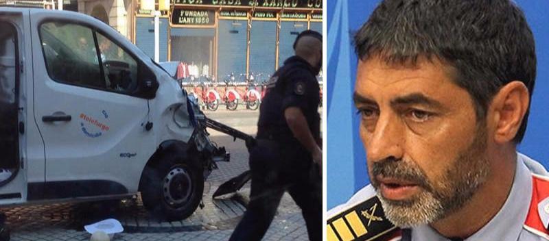 El jefe de los Mossos reconoce la existencia del informe que alertaba de un atentado en Barcelona, pero no se le dio credibilidad