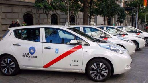 Los taxis de Madrid tendrán que ser ecológicos obigatoriamente en 2018