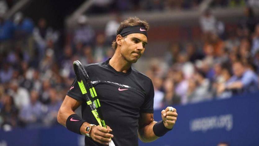 Nadal, Bautista y Feliciano avanzan a tercera ronda del US Open