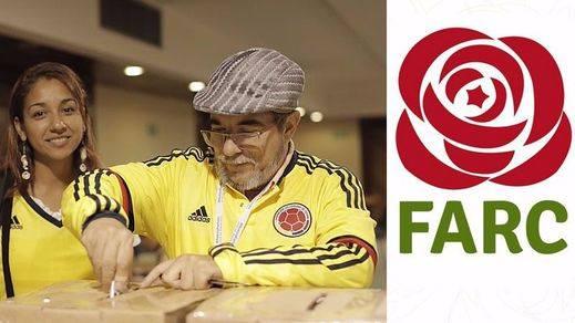 Las FARC entran a la política en Colombia con un partido y un logo parecido al del PSOE