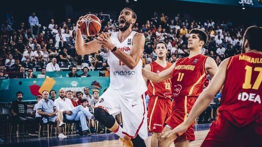 Arranque estelar: España inicia el Eurobasket arrollando a Montenegro (99-60)