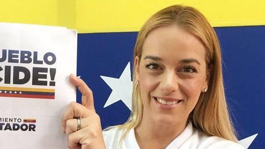 El régimen venezolano impide a Lilian Tintori reunirse con Rajoy, Macron, Merkel y May