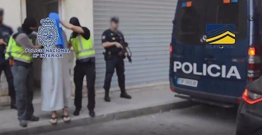 Desarticulada en Melilla y Marruecos una célula terrorista yihadista de 6 miembros