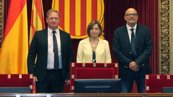 > La Fiscalía de Cataluña se querella contra Forcadell por desobediencia y prevaricación