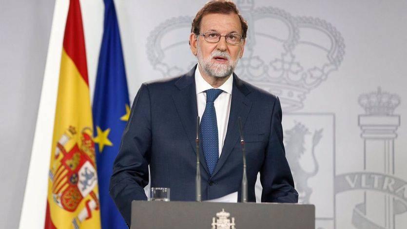 Rajoy, contundente: 'No habrá referéndum en Cataluña'