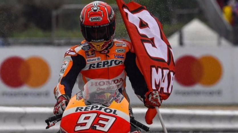 Un valiente Marc Márquez gana en Misano y se coloca líder del Mundial MotoGP