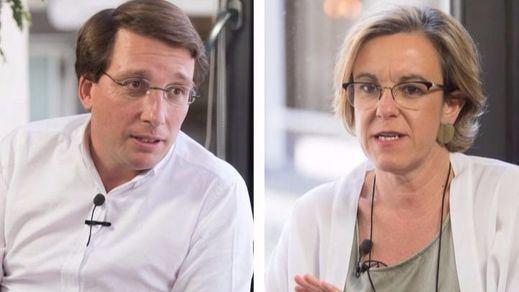 Apología vs. libertad de expresión: Almeida y Causapié debaten sobre Cataluña