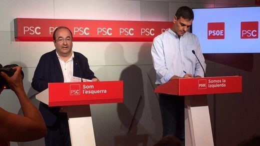 Los alcaldes del PSC denuncian