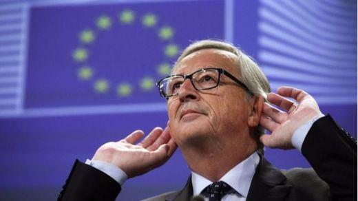 El desliz de Juncker que Junqueras se apresura a aprovechar políticamente