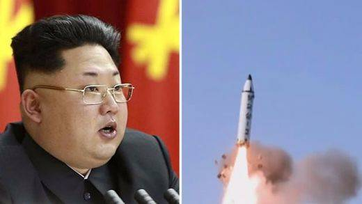 Corea del Norte vuelve a disparar un misil sobre cielo japonés